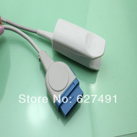 GE spo2 sensor, nellcor module, adult finger clip,  medical TPU,CE&ISO 13485, 10ft/3m