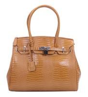 2013 Portable Fashionable crocodile TMC Women Hobo Retro Briefcase Handbag Wine Alligator Red EB-1001