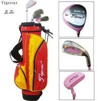 Tigeroar golf sets of pole golf ball rod cudweeds female child
