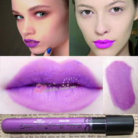 Dull velvet lipstick matt liquid lipstick waterproof lavender purple cos