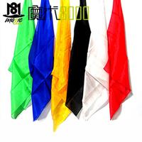 Magic silk scarf silk scarf silk squareinto ultra-thin silk scarf magic props