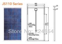Supply Yingli solar brand off grid  poly crystalline solar modules BP-P- JS 110W