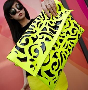 Mikko 2013 bag neon day clutch candy color women's messenger bag handbag bag