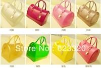 2013 New Arrived Hot sale Candy Bag Designer Handbag Top Fashion Ladies Handbags Pink PVC Jelly bag Serpentinite bags FL8395