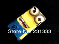 Cartoon Despicable Me minions lovely plastic hard case animated movie superman PC cases for ipod touch 4 cases skin 5pcs