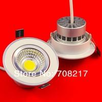 Free Shipping  COB 15W High Lumens 95~100LM/W COB LED Downlight 15W LED Down Light Epistar Chip CE & RoHS