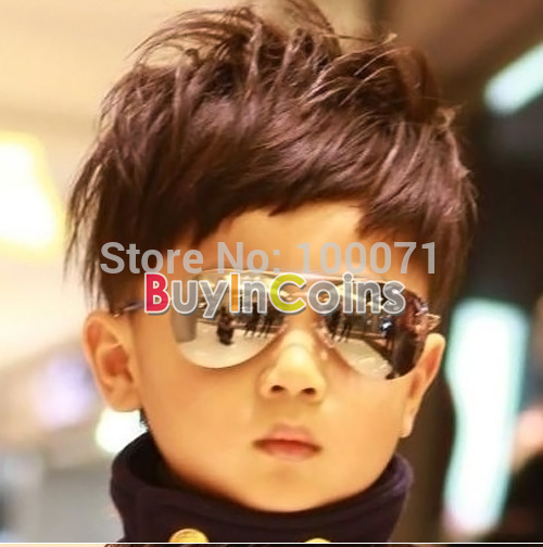 Cool Fashion Baby Children Kids Boy Girl Sunglasses Metal Frame Child Goggles 02 #41834(China (Mainland))