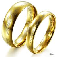 vintage turquoise rings tibetan  gold plated titanium lovers ring gj320 big engagement ring sets