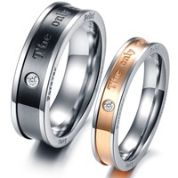 Fashion rings stone  2013 gift titanium lovers ring gj353 lighter ring jewelery sets christmas the only internal love ring