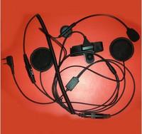 Free shipping Motorcycle earphones motorcycle helmet walkie talkie earphones