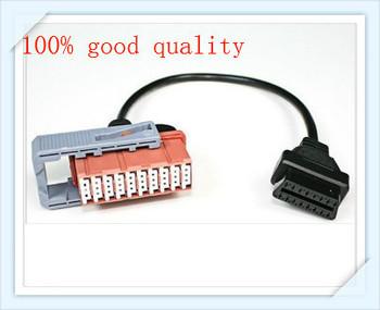 Free Shipping OBD 2 Connector lexia 3 Peugeot Citroen PSA PP2000 lexia 30pin Car Connector Adapter Cable