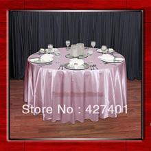 popular pink linen tablecloth