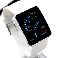 2013 Free Shipping Fashion Men Women LED watch a variety of colors
