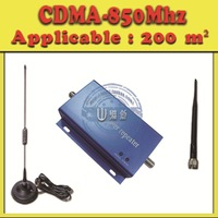 Free shipping,Best Price !!! Mini CDMA-850Mhz Mobile Phone Signal Repeater/Booster/Amplifier/Receivers+Cable+Antenna.