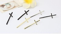 2013 Fashion bijoux jewelry ,cross  stud earring.J007