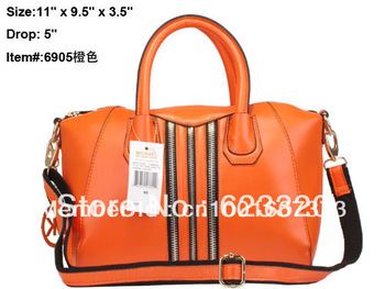 2013 New Arrived Hot sale hangdbag PU Designer Handbag Top Fashion Ladies Handbags Pink Serpentinite bags M6905