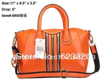 2013 New Arrived Hot sale hangdbag PU Designer Handbag Top Fashion Ladies Handbags Pink Serpentinite bags M6905