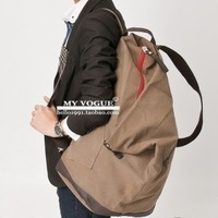 Travel bag school bag trend backpack canvas male backpack large capacity travel ball bag
