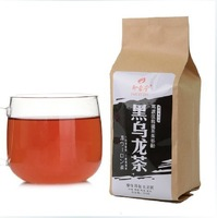 Promotion! Top Grade 250g Chinese Health care Black Oolong Tea Bag Slimming Tea Free Shipping