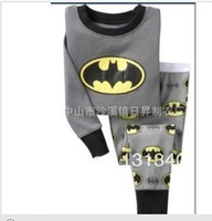 Free shipping New children clothing sets cartoon Girls Pajamas/Boys Pajamas for Height 85cm to 120cm
