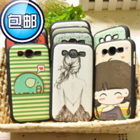 For samsung   i9082 mobile phone case phone case i9082 protective case protective case shell cartoon everta