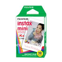 Free Shipping Fujifilm Fuji Instax Mini 7S 50S 25 Instant Colour Print Film (10 Sheets)