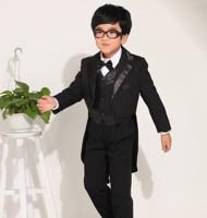 Six  pieces set  tuxedo boy  Child formal dress Suit boy