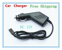 Free shipping General gps navigator car charger mini usb parallel-chord square toe interface gps navigator car charger