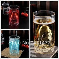 DHL Free Shipping Wholesale For Sharf Face Mug,Beverage Bottle Glass 75Pieces/Lot