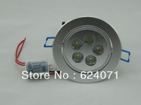 Factory outlets!15W CREE LED downlight led lamp, warm white/cool 1080LM high power led lighting AC85-265V Free shipping