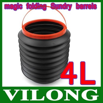 Car Magic Food Water Container Rubbish Barrel Folding foldable - Sample