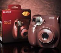 Free Shipping New Fuji Fujifilm Instax Mini 7S Chocolate Instant Film Camera(coffee color)