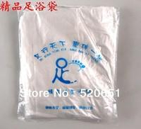 FreeShipping Thickened Manicure Footbath Bag Nail Art Foot Tool MuZu Bags Footbath Plastic Bags 90Pcs/Pack