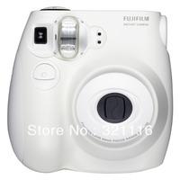 Free Shipping Fujifilm instax mini 7S Point and Shoot Film Camera - White