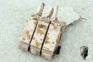 G TMC MOLLE Tri Pouch for MP7 ( AOR1 ) TMC1727