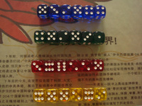 Multicolour bosons 16mm transparent 24 4 6 quality transparent dice product