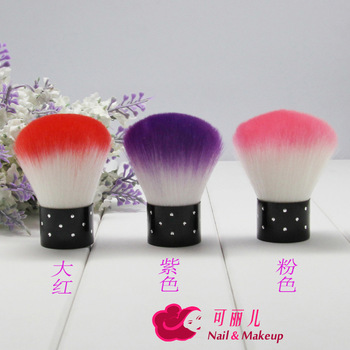 Cleaning brush nail art finger brush dust brush soft-bristle soft carton belt
