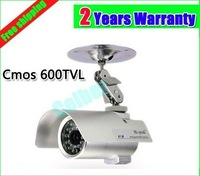 Hot sale!600TVL 1/3 CMOS security Surveillance Outdoor CCTV camera 36 IR LEDs Day Night Vision Waterproof,Free Shipping