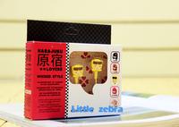 Free Shipping 10pcs/lot Harajuku Lovers Super Kawaii Earphones Cartoon Headphone In Ear Earpiece Japanese Design Headphone S7000
