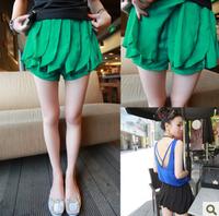Eland 41u 2013 women's excellent type chiffon pants trousers culottes pants shorts