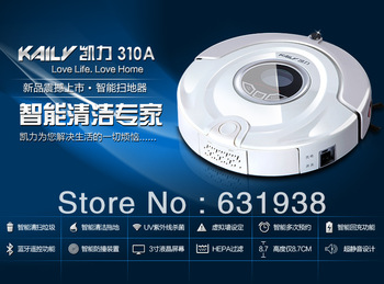 Intelligent robot vacuum cleaner UV Sterilize,Ultra thin body design,remote,Automatic recharge,Virtual wall induction
