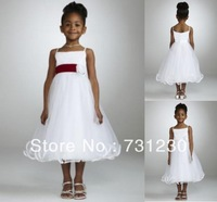 Free Shipping Flower Girl Dresses First Communion Dresses girl dress 201211081600