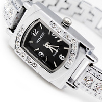 Elegant KIMIO Brand Watch women ladies Japan Mov Stainless Steel Crystal Watch k138s