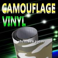 Hot sale Camouflage Vehicle wrap / wrap folie   with air free bubbles 1.52x30M