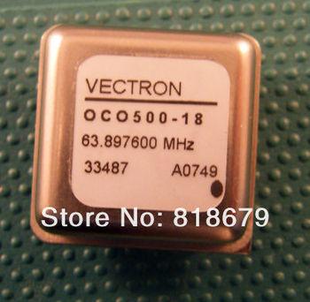 1pc new 63.897600 MHz VECTRON 63.897600MHz OCO500-18 module  FreeShipping