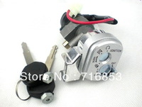 E-Motorcycle Electric Bike Scooter Two Spare Keys Anti-theft Battery Lock #002