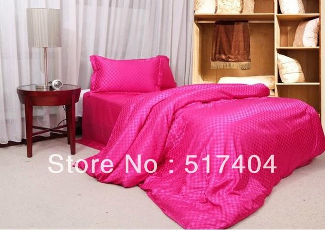 Online kopen Wholesale roze gekleurde dekbedden uit China roze gekleurde dekbedden Groothandel