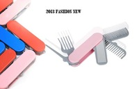 Free Shipping  Mirror Comb Combined Folding Combs Protect Hair Easy To Carry To Travel