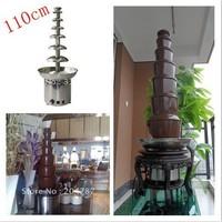 110cm height  7layers chocolate fountain