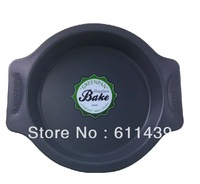 Free Shipping, brand original single, binaural nonstick, ceramic thick round cake pan